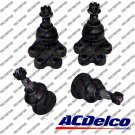New Suspension Ball Joint Front Lower Upper Set ACDelco For Chevy Silverado 2WD