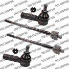 New Set Front Inner+Outer Steering Tie Rod End For 02-93 Toyota RAV4,Corolla
