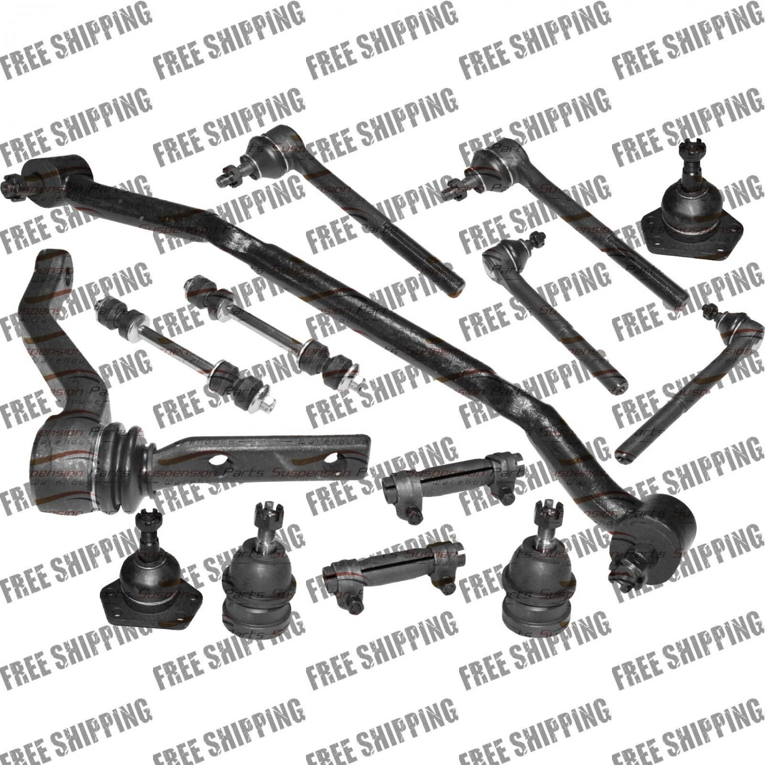 Steering Center Link-Kit Tie Rod End Ball Joint For Chevy Monte Carlo-El Camino
