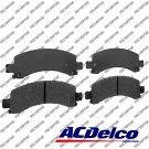 Disc Brake Pad-Ceramic Rear ACDelco Advantage 14D974ACH
