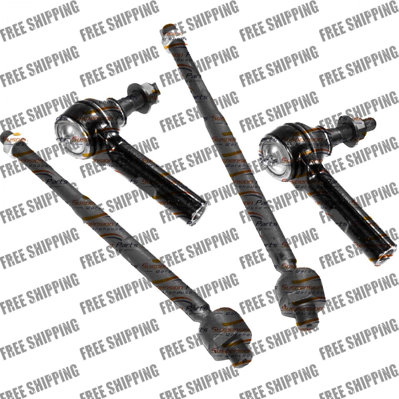 Inner+Outer Tie Rod End For Chrysler 300, Dodge Charger, Challenger,Magnum 2WD