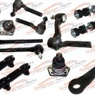 14 Piece NEW Front Suspension Kit Ball Joints Link Bar Rod Ends Chevy GMC 4WD