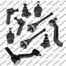 4WD Suspension Kit For Dakota Durango 97-99 Tie Rods Ball Joint IdlerArm (12mm)