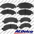 Disc Brake Pad-Ceramic Rear-Front Set Kit ACDelco Advantage 14D974ACH,14D1363CH