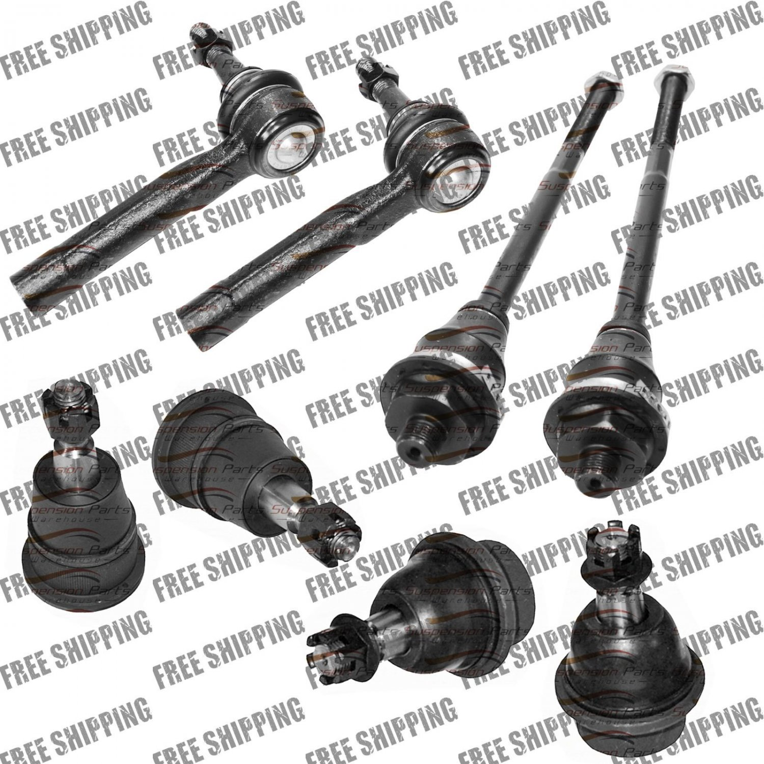 Front Tie Rod End-Ball Joint For Chevy Silverado 1500HD,2500HD and 3500 Classic
