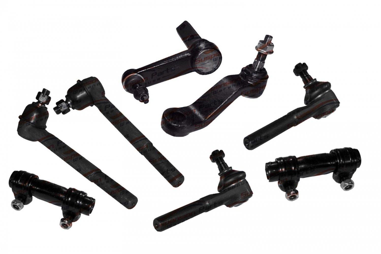 Kit RWD Dodge Ram 1500/2500/3500 Pickup Pitman/Idler Arms Tie Rod/Sleeve Rods