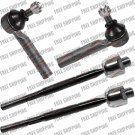 Front Inner,Outer Steering Kit Replacement Part Tie Rods For Toyota Land Crusier