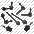 Steering Tie Rod End Lower Ball joint Sway Bar link For Lincoln Navigator 03-04