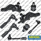 New Front Suspension Kit Moog Ball Joint Tie Rods Sway Bar For Toyota Tundra