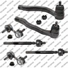 New Front Steering Kit For Honda CR-V Tie Rod End Inner+Outer+Sway Bar Link
