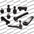 Front Steering Tie Rod End Ball Joints Pitman Arm For Ford RWD Excursion Trucks