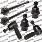 2004 2005 2006 FORD F150 Front Steering Inner+Outer Tie Rod End+Ball Joints Set