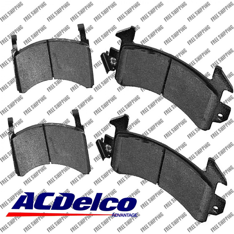 Disc Brake Pad-Semi Metallic Front,Rear ACDelco Advantage 14D154M