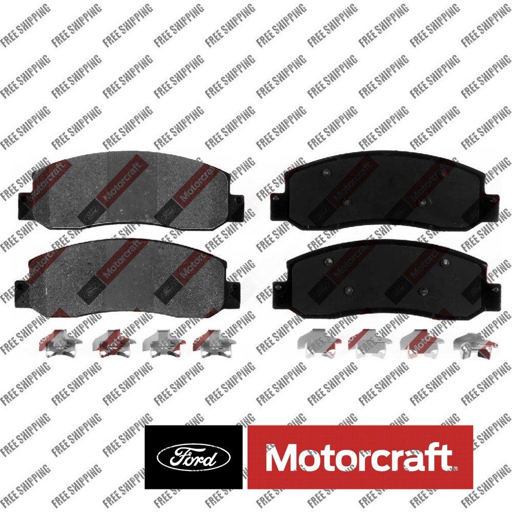 Disc Brake Pad-Standard Premium Integrally Molded Front Motorcraft BR-1069