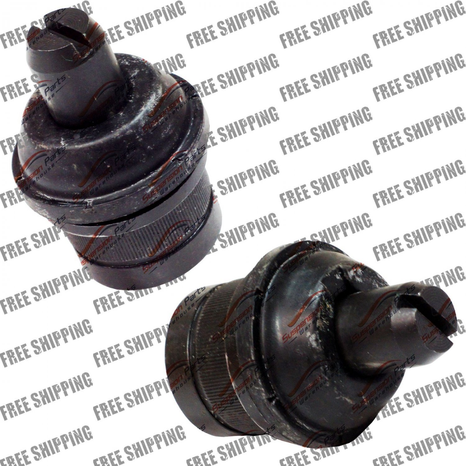 Front Suspension Set Upper Ball Joints For Ford E-150 Club Wagon E-15- Econoline