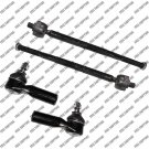 New 2 Inner And 2 Outer Tie Rod End Ford Escape Mercury Mariner Mazda Tribute