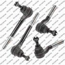 New 4WD Steering Kit Tie Rod End For Chevrolet Blazer S10 Gmc Jimmy S15 Sonoma