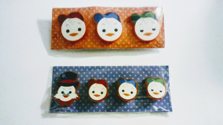 disney ducktales acrylic pin set scrooge mcduck huey duey luey