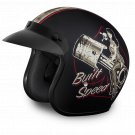 Daytona Helmets Cruiser Open Face - Built For Speed - Motorcycle Helmet DC6-BFS