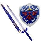 Hylian Shield of Link and Link Master Sword
