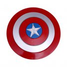 New Style Round Metal Captain America Shield Classic Men Red