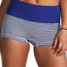 SPANX Panties Shape Boyshort L New with Tag NWT Blue White Stripe