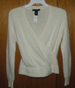 The Limited Sweater New with tag M Soft Angora Blend with Sequins