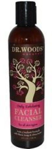 Dr. WOODS Facial Cleanser Black Soap and Shea Butter Full Size Sealed Natural