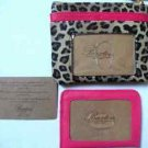 Buxton NWT Change Purse & Card Holder Animal Print Wallet