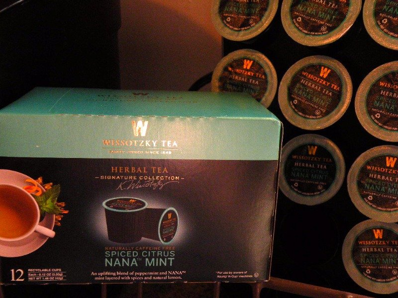 Wissotzky Tea ~ K-Cups ~ Spiced Citrus Nana Mint ~ Use with Keurig ~ NIB