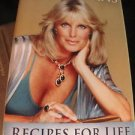 Linda Evans Book Signed NEW Recipe for Life Includes Recipes
