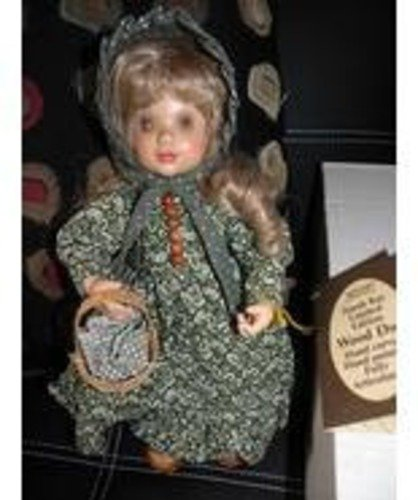 ANRI Wood Doll Emily NWT In Original Box. New, never used. Retired, Large Collec