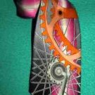 Necktie Gears Mechanical Designed Exclusively for Quentin Unworn 100% Silk