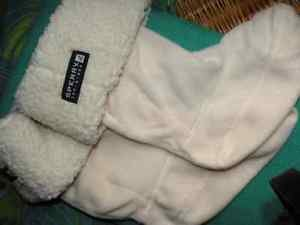 Sperry Top-Sider Boot Liners Slippers Size L NWOT