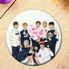 Korea POP All Members of BTS Bangtan Boys Brooch Pins Badge Broches For Clothes Backpacks