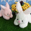 Cute White Rabbit Baby Plush Toy Soft Ballet Bunny Rabbit Doll Kids Comfort Doll