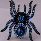 Spider brooch pin pendant Xmas holiday jewelry gifts for women girls
