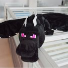 Minecraft ender dragon plush soft black Minecraft enderdragon PP cotton minecraft dragon