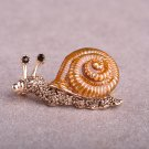 Snails Brooches For Women Antique Fleur De Lis Enamel Esmalte Animal Brooch Pins