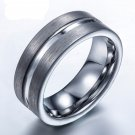 Brilliant Knuckle Jewelry Tungsten Steel Anti-scratches Rings Europe Brand Rings For Man Jewelry