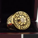 1980 Los Angeles Lakers National Basketball Championship Ring 7-15 Size Copper Engraved Inside