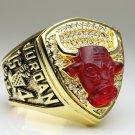 1993 Chicago Bulls National Bakstball Championship Ring 10 Size Jordan Name alloy version