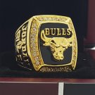 1991 Chicago Bulls National Bakstball Championship Ring 10 Size Jordan Name alloy version