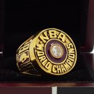 1982 Los Angeles Lakers National Basketball Championship Ring 7-15 Size
