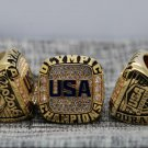 2016 RIO OLYMPIC Basketball Championship Ring for USA 7-15 Size