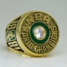 1981 the Boston celtics basketball championship ring size 8 to 14 solid copper ring