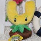Gold Magnet Plush Toys 13-20cm Plants vs Zombies Soft Stuffed Plush Toys
