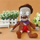 Pirate Zombie Plush Toys 30cm Plants vs Zombies Soft Stuffed Toys