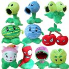 10pcs/set Plants Vs Zombies Soft Plush Toys Doll Games PVZ 13-20cm Plants Stuffed