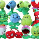 12pcs/set Stuffed Toys Plants Vs Zombies Soft Plush Toys Doll PVZ 13-20cm Plants Plush Toy